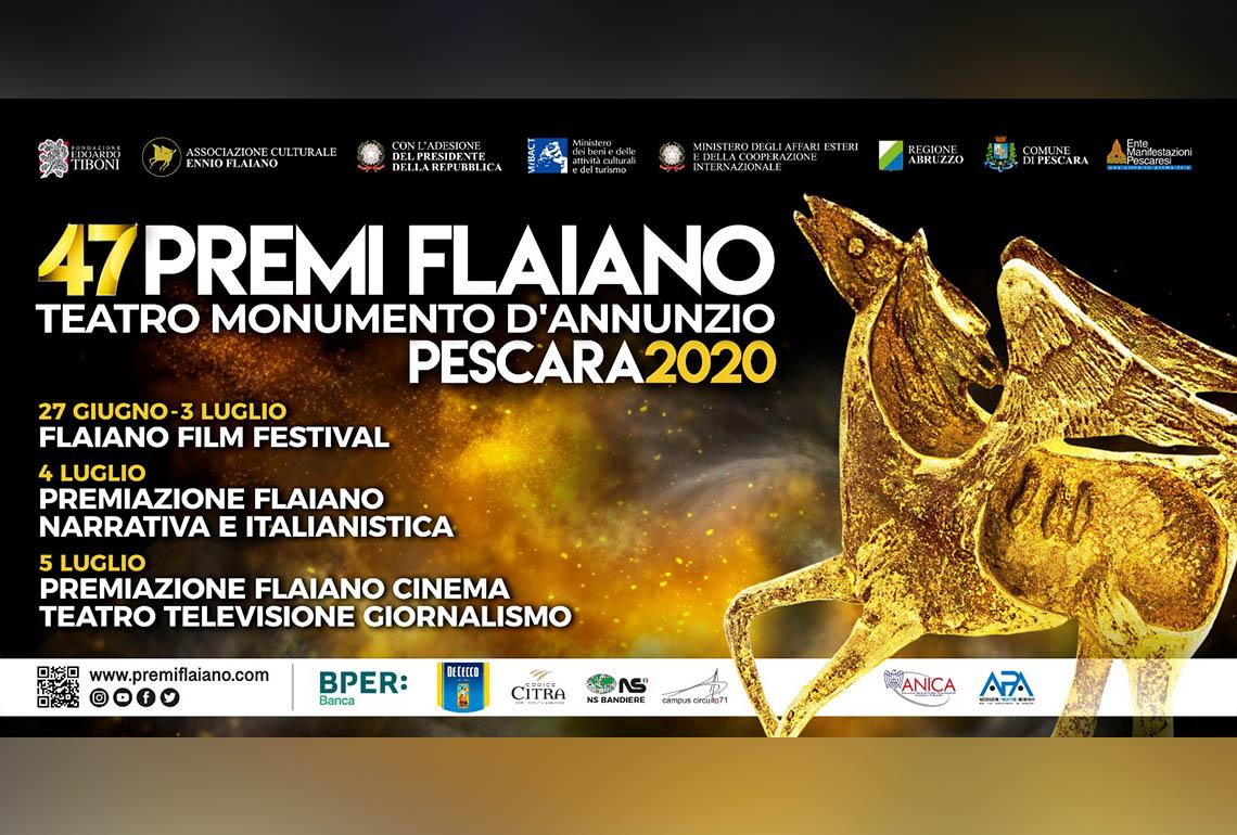 47° Premi Flaiano di Cinema Teatro Televisione e Giornalismo